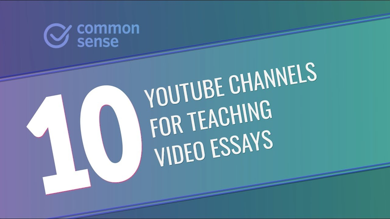 Small Essays In English  Great Youtube Channels For Teaching Video Essays Essays On Science Fiction also Pollution Essay In English  Great Youtube Channels For Teaching Video Essays  Youtube Essays Topics In English