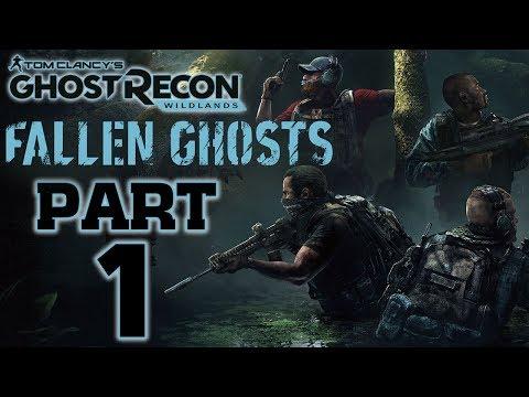 """Ghost Recon: Wildlands - Fallen Ghosts DLC - Let's Play - Part 1 - """"Tomas Ortega"""""""