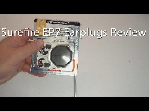 Motorcycle Earplug Review Part 1 Surefire EP7 Sonic Defenders Ultra