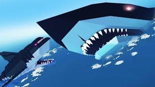 NEW Megalodon vs Robot Shark - Stormworks Part 2 | Pungence