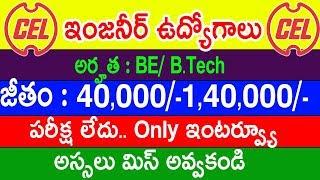 Central Electronics Limited Recruitment 2019   CEL Graduate Engineer Recruitment 2019