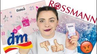 DM, WARUM? 😡 DM und ROSSMANN Adventskalender 2018