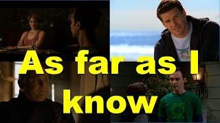 As far as I know (примеры из фильмов и сериалов) / Фразы на английском языке
