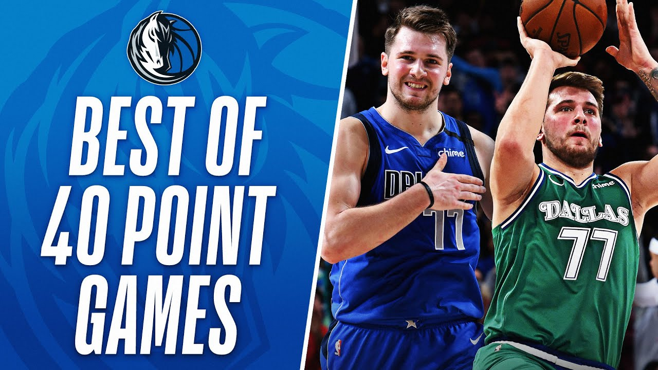 Luka's BEST MOMENTS From His 40-PT Games In His Career So Far!