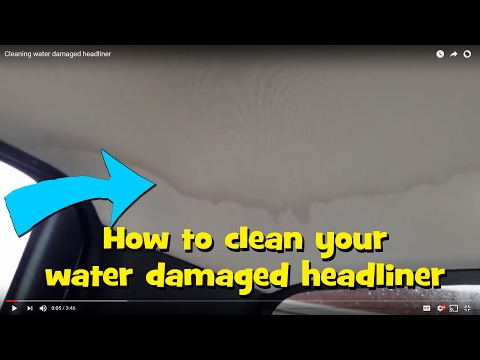 cleaning-water-damaged-headliner