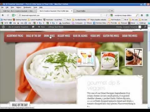 Adding Products To Estore Wordpress Theme - YouTube