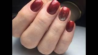 Обзор на гель-лаки nail passion, vogue/ растяжка блестками.