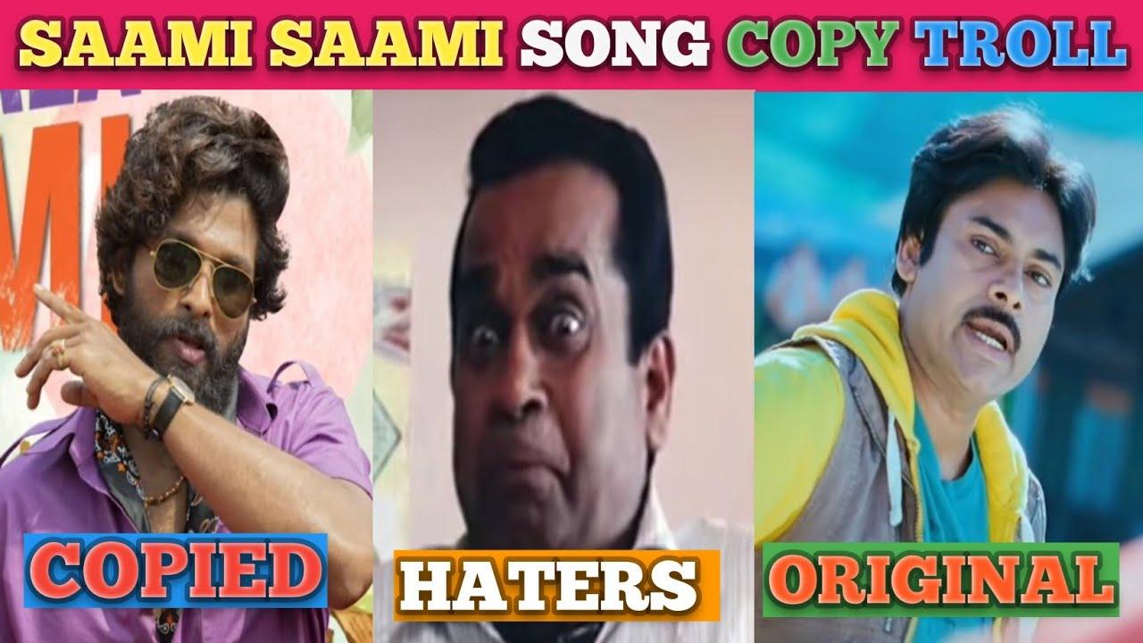 Download Saami Saami Song Copy Troll   Pushpa   Allu Arjun   Dsp   Telugu Trolls