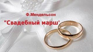 Свадебный марш (фрагмент) на гармони