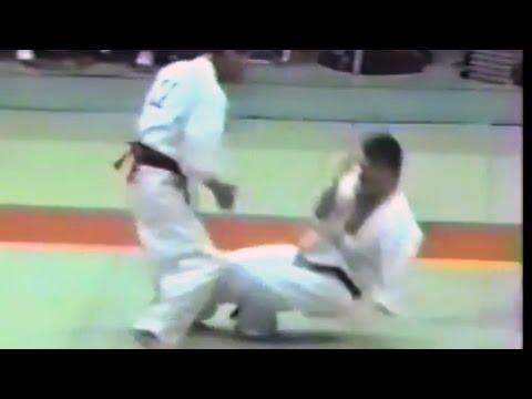 極真会館 1987年第1回京都大会(6/7)準決勝・3位決定戦(kyokushin 1987 Kyoto) 滋賀空手