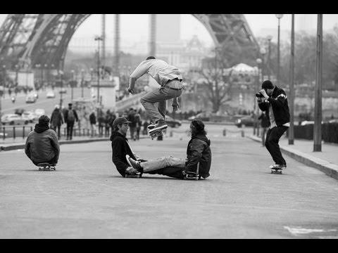 """Trocadéro Days"" by Pontus Alv Converse Skateboarding"