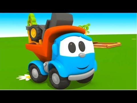 Cartoons auf Deutsch 🎥 Leo der neugierige Lastwagen: 4 Folgen am Stück 🚚 Zeichentrick für Kinder