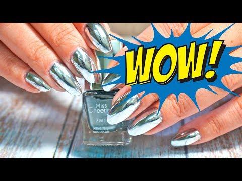 Лак хром для ногтей