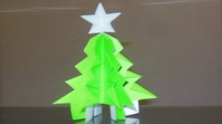 Cool Origami Xmas Tree & Star!
