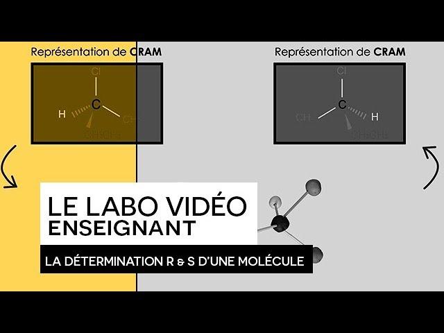 [ LABO VIDÉO ENSEIGNANT ] - La détermination R & S d'une molécule