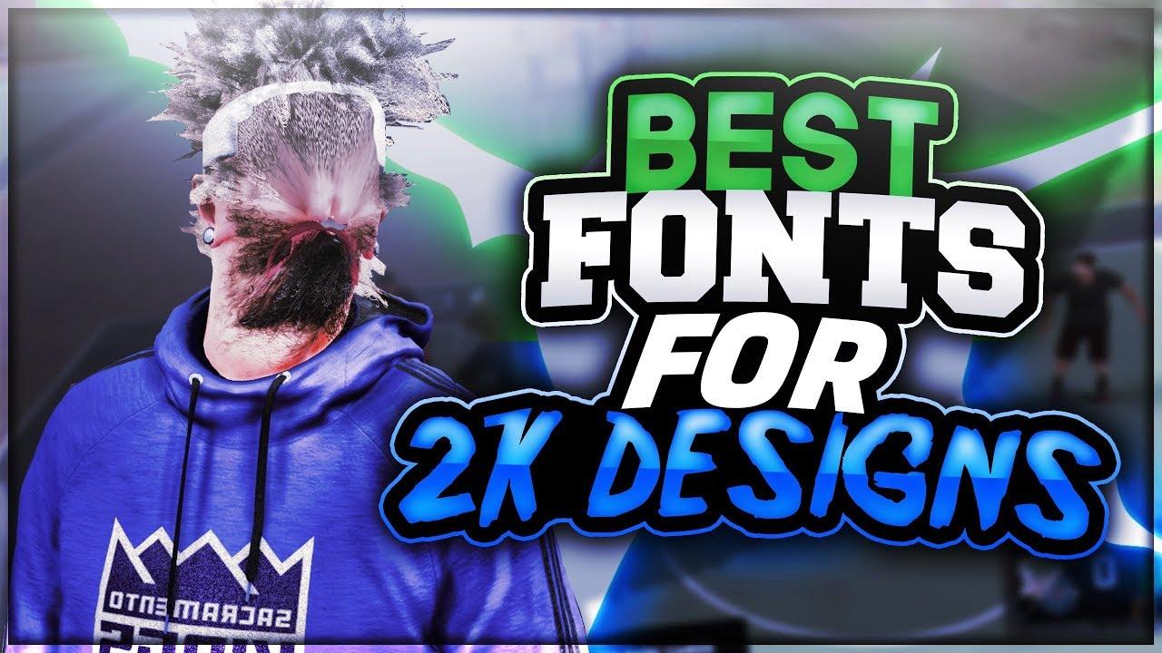 Download NBA2K18 BEST FONTS PACK!! 💦 ( BEST FONTS FOR 2K DESIGNERS ...