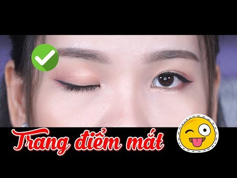 Cách trang điểm mắt cơ bản dành cho người mới học makeup - Đơn giản & dễ áp dụng   Tiny Loly