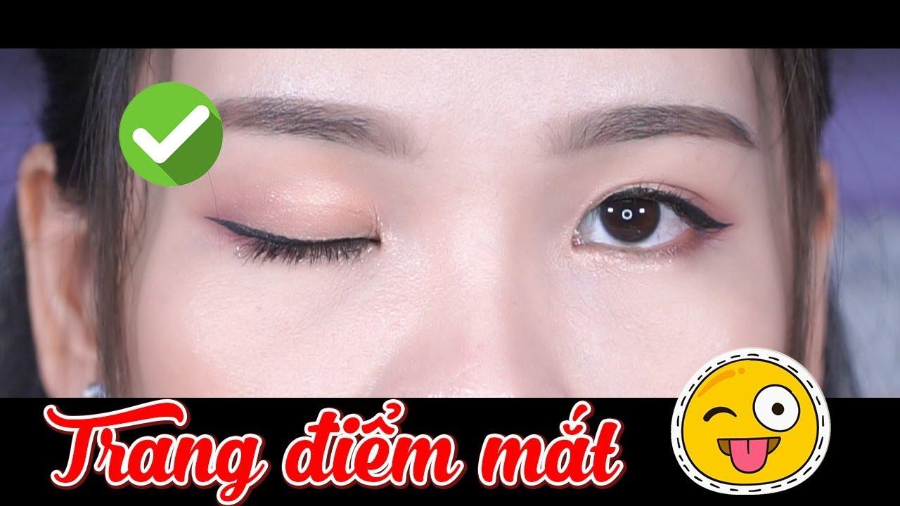 Cách trang điểm mắt cơ bản dành cho người mới học makeup – Đơn giản & dễ áp dụng | Tiny Loly
