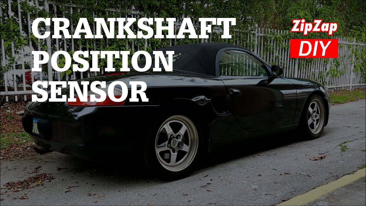 Porsche Crankshaft Positon Sensor | No Start Problem Solved