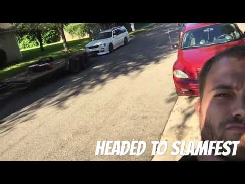 Slamfest 2016 Gainesville Florida day 1 with the stagea and other cars