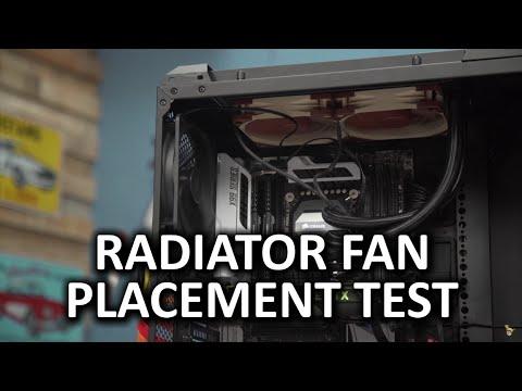 Radiator Fan Configuration Does It Matter The Work