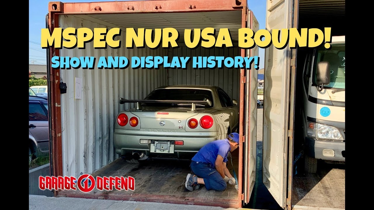 Exporting the First LEGAL MSPEC NUR to the USA Under Show
