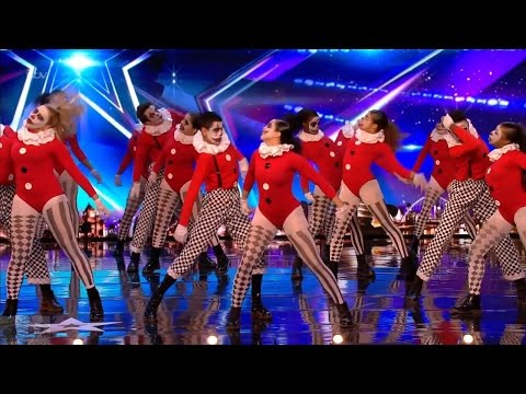 Britain's Got Talent 2017 TNG Insane Clown Dance Troupe Full Audition S11E05