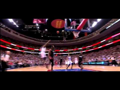 Dwyane Wade & Lebron James Alley oop MIX
