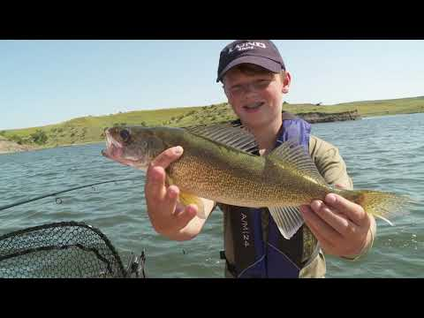 Lund Ultimate Fishing Experience 2020   Ep 6 Oahe Wings And Walleye