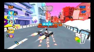 Cartoon Network Racing PS2 Character Themed Races