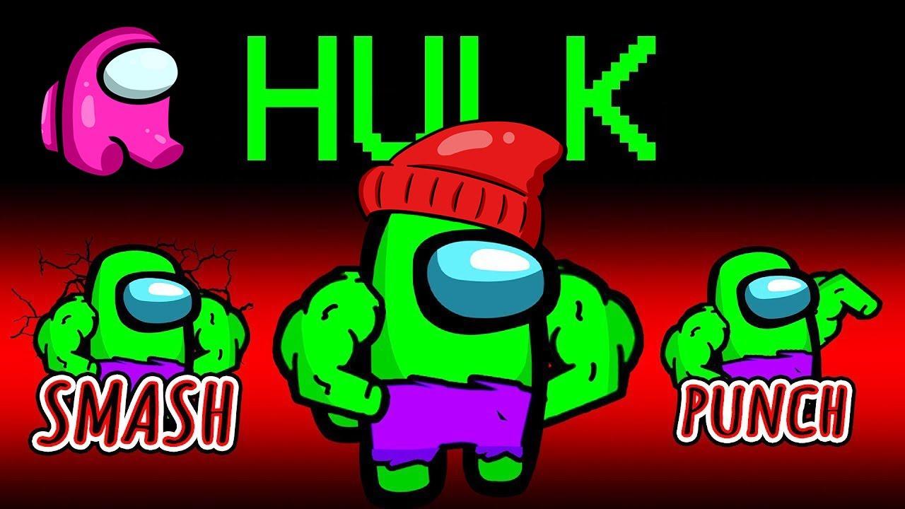 Download IL NUOVO RUOLO DI HULK SU AMONG US CON LE MOD!!