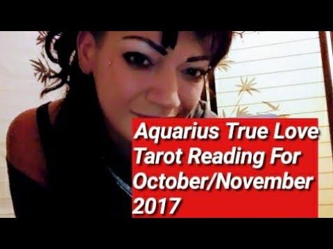 Aquarius True Love Reading For October/November 2017
