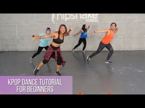KPop Dance Tutorial For Beginners | KPop Cardio Dance | 5 Min