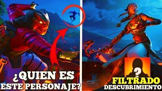 'FILTRATED' WHO IS THIS SKIN? 'NEW SECRETS OF DISCOVERY'Fortnite Battle Royale