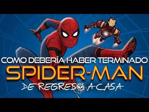 Como Spiderman: De Regreso a Casa Debería Haber Terminado