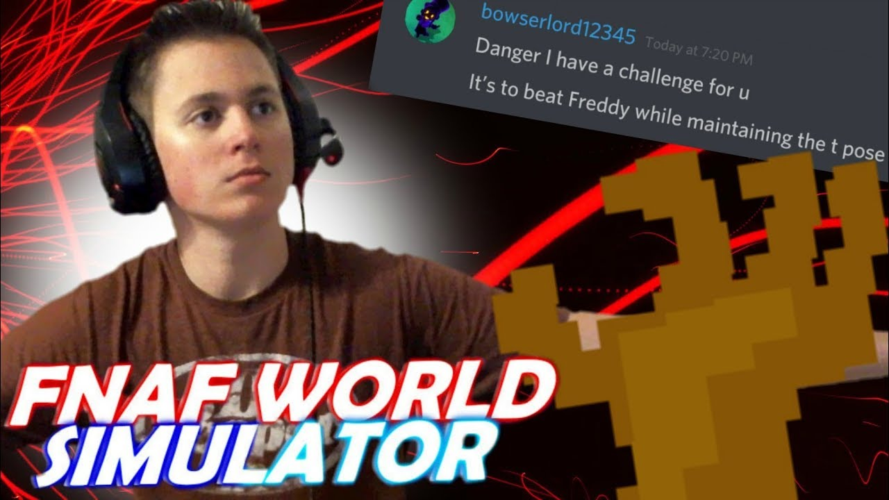 FNaF World Simulator | Episode 21 | Defeating Freddy While