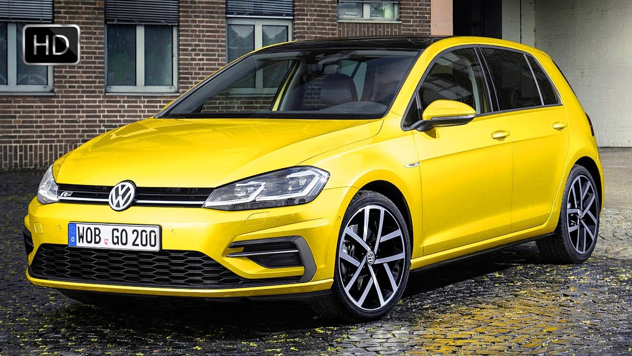 2017 volkswagen golf 7 r line facelift exterior interior. Black Bedroom Furniture Sets. Home Design Ideas