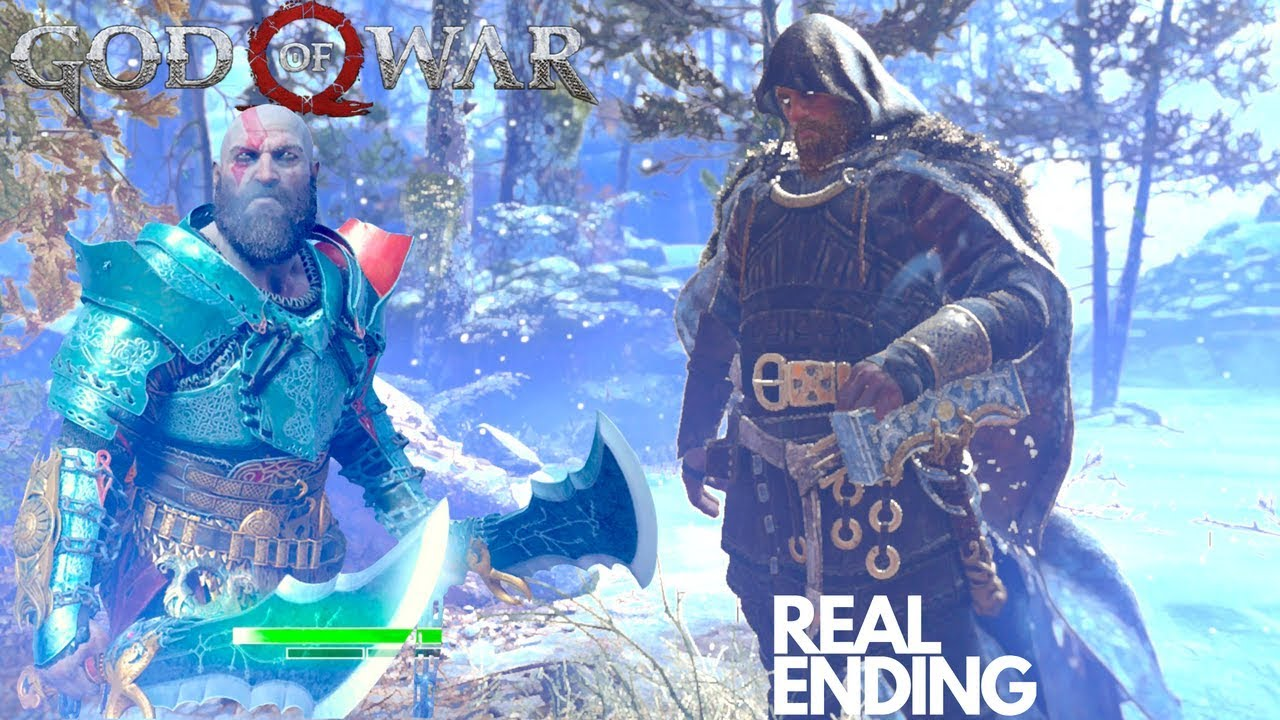 God Of War Thor Secret Ending Kratos Vs Thor