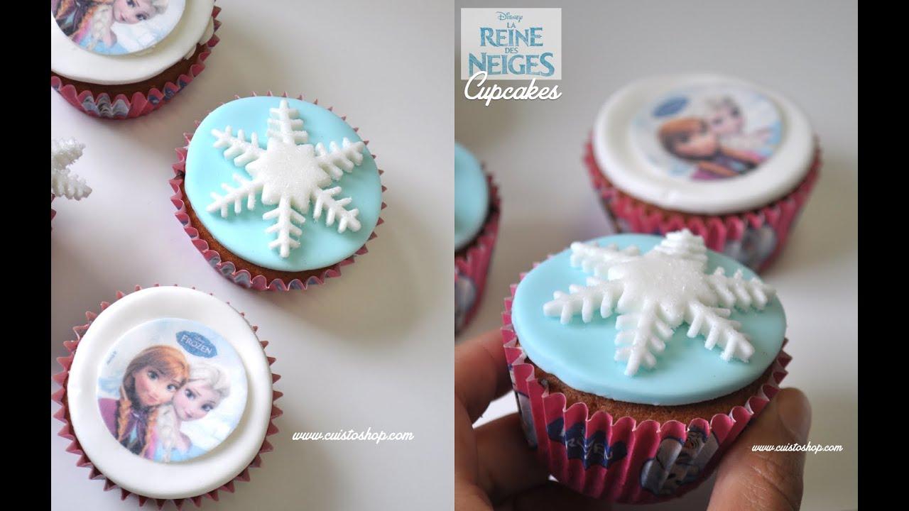 cupcakes la reine des neiges express