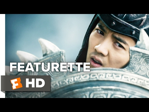 The Great Wall Featurette - Mayes Rubeo (2017) - Matt Damon Movie