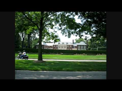 Grosse Pointe Michigan Mansions Amp Landmarks Youtube