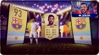 FINALMENTE MESSI IN A PACK !! PACK OPENING [FIFA 18]