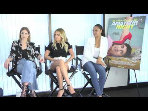 Amateur Night  Exclusive Cast  with Ashley Tisdale, Janet Montgomery & Bria Murphy