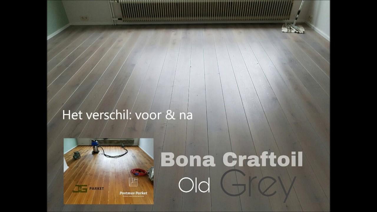Eiken vloer schuren en kleuren in castricum youtube