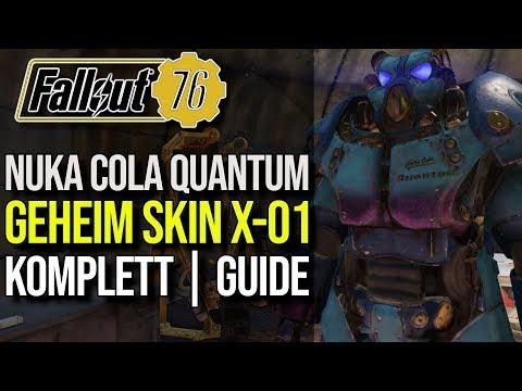 Nuka Cola Quantum Lackierung für X-01 | Komplett Guide | Fallout 76 thumbnail