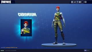 NEW Fortnite Skins DIECAST | CHROMIUM | PERSUADER | SOLID STRIDER