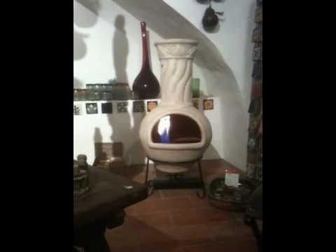 poele mexicain et son bruleur ethanol youtube. Black Bedroom Furniture Sets. Home Design Ideas