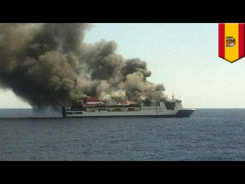 Spanish ferry fire: Sorrento catches fire off Mallorca, 150 rescued by passing vessels - TomoNews