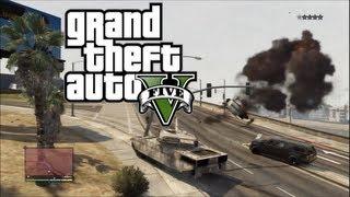 Grand Theft Auto V - Panzer Power