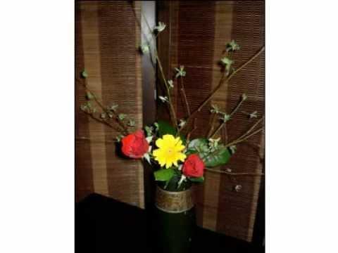 Nghệ thuật cắm hoa Nhật Bản - Nghe thuat cam hoa nhat ban - Ikebana - chohoatuoi.vn